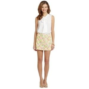 Lilly Pulitzer Skirts - Lilly Pulitzer Floral Sunbonnet Lace Tate Skirt
